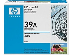 HP Q1339A Genuine Black Toner Cartridge (39A)