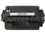 HP Q2610X (10X) Black Toner Cartridge, New Drum