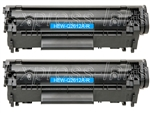 HP Q2612AD (12A) 2-Pack Toner Cartridge Combo Q2612A
