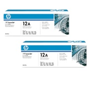HP Q2612AD Genuine Toner Cartridge Combo Q2612A