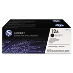 HP Q2612D Genuine Toner Cartridge Combo Q2612A