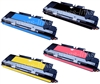 HP Color Laserjet 3700 4-Pack Color Toner Cartridge Combo