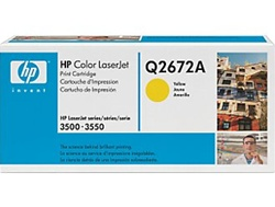 HP Color Laserjet 3500 Yellow Toner Cartridge