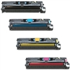 HP Color Laserjet 2550 4-Pack Toner Combo