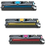 HP Color Laserjet 2550 3-Pack Toner Combo