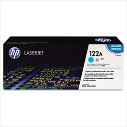 HP Color Laserjet 2840 Genuine Cyan Toner Cartridge Q3961A