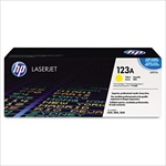 HP Color Laserjet 2550 Genuine Yellow Toner Cartridge Q3972A