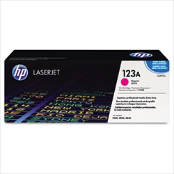 HP Color Laserjet 2550 Genuine Magenta Toner Cartridge Q3973A