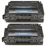 HP Q5942XD Black Toner Cartridge Combo Q5942X (42X)