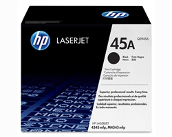 HP Q5945A Genuine Black Toner Cartridge (45A)