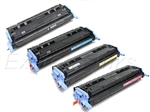 HP Color LaserJet 2600, 2600n 4-Pack Toner Cartridge Combo