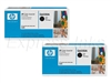 HP Color Laserjet 2600, 2600n 2-Pack Black Toner Cartridges Q6000AD