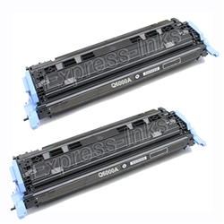HP Color Laserjet 2600 Black Toner Cartridge Combo