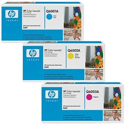 HP CE257A Genuine Color Toner Cartridges