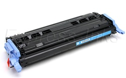 HP Color Laserjet 2600, 2600n Cyan Toner Cartridge Q6001A