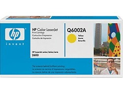 HP 2600, 2600n Genuine Yellow Toner Cartridge Q6002A