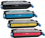 HP Color Laserjet 4730 4-Pack Toner Cartridges