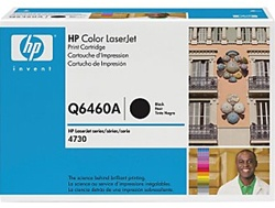 HP Color Laserjet 4730 Genuine Black Toner Cartridge