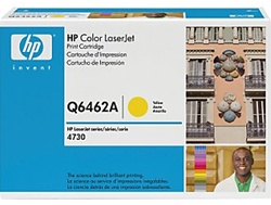 HP Color Laserjet 4730 Genuine Yellow Toner Cartridge