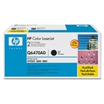 HP Q6470AD Genuine Toner Cartridge Combo
