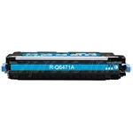 HP Q6471A Compatible Cyan Toner Cartridge, 502A