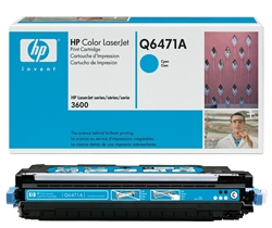 HP Q6471A Genuine Cyan Toner Cartridge