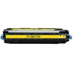 HP Q6472A Compatible Yellow Toner Cartridge 502A