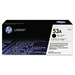 HP Q7553A Genuine Toner Cartridge (53A)