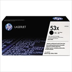 HP Q7553X Genuine Toner Cartridge (53X)
