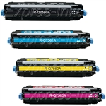 HP Color LaserJet 3000 4-Pack Toner Cartridge Combo