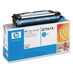 HP Q7561A Genuine Cyan Toner Cartridge 61A