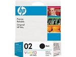 HP #02 Genuine Black Inkjet Ink Cartridge C8721WN