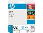 HP #02 Genuine Light Cyan Inkjet Ink Cartridge C8774WN