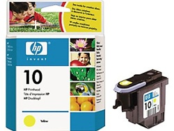 HP #10 Genuine Yellow Printhead C4803A