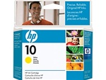 HP #10 Genuine Yellow Ink Cartridge C4842A