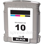 HP #10 Black Inkjet Ink Cartridge C4844A