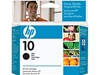 HP #10 Genuine Black Ink Cartridge C4844A