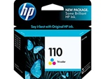 HP #110 Genuine Tri-Color Inkjet Ink Cartridge CB304AN