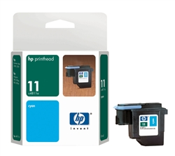 HP #11 Cyan Printhead Cartridge C4811A