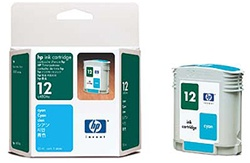 HP 12 Cyan Inkjet Cartridge C4804A