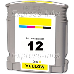 HP #12 Yellow Inkjet Ink Cartridge C4806A