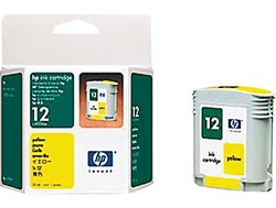 HP 12 Yellow Inkjet Cartridge C4806A
