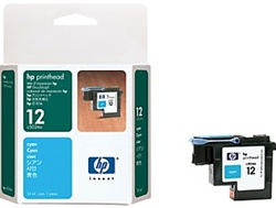 HP 12 Cyan Printhead Cartridge C5024A