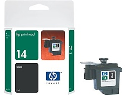 HP 14 Black Printhead C4920A