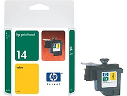 HP 14 Yellow Printhead C4923A