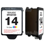 HP #14 Compatible Tri-Color Ink Cartridge C5010D
