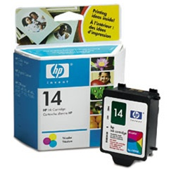 HP #14 Genuine Tri-Color Ink Cartridge C5010D