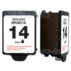 HP #14 Compatible Black Ink Cartridge C5011D