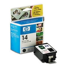 HP #14 Genuine Black Ink Cartridge C5011D