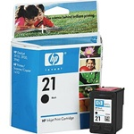 HP #21 Genuine Black Ink Cartridge C9351AN
